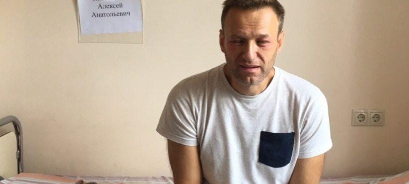 """Reakcja alergiczna"" Aleksieja Nawalnego"