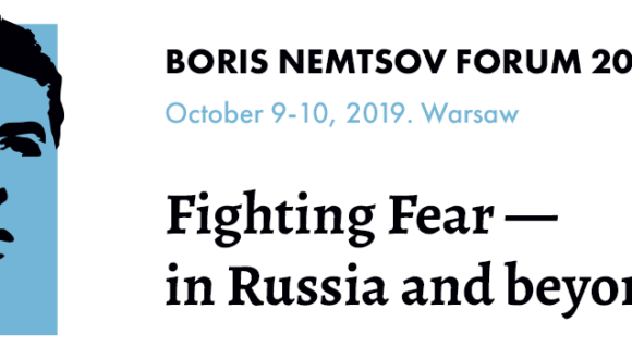 Boris Nemtsov Forum 2019 be held in Warsaw on October 9-10