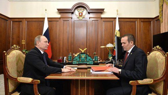 Były głowa Czuwaszji pozwał Putina z powodu swojej dymisji