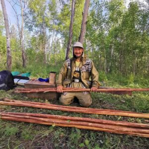Szaman Aleksander Gabyszew, zdjęcie - Instagram @putshamana (droga szamana)