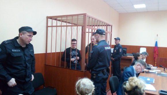 """W Petersburgu 2 figurantów sprawy """"Sieci"""" skazano na 5,5 i 7 lat więzienia"""