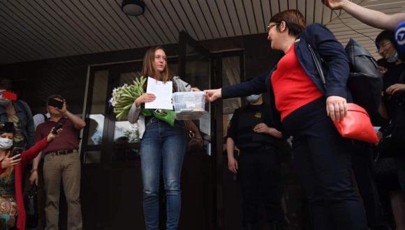 Swietłana Prokopiewa zdobyła nagrodę Komitetu Ochrony Dziennikarzy
