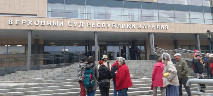 Sąd Najwyższy Karelii skazał historyka Jurija Dmitrijewa do 13 lat kolonii karnej