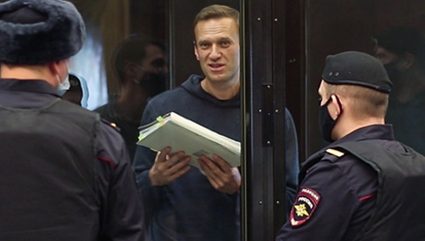 Aleksiej Nawalny idzie do więzienia. Publikujemy wystąpienie polityka przed ogłoszeniem wyroku
