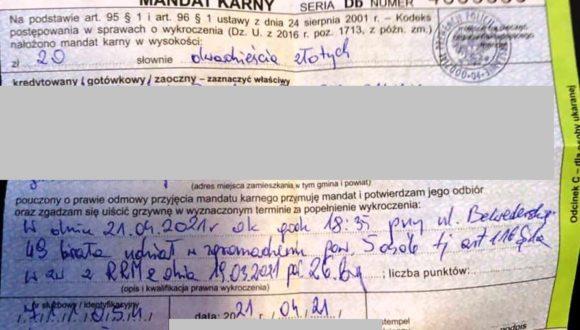 """Oświadczenie w sprawie interwencji policji wobec uczestników akcji """"Uwolnić Nawalnego"""""""
