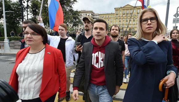 Komisja wyborcza wyeliminowała Ilję Jaszyna z wyborów do moskiewskiej Dumy Miejskiej