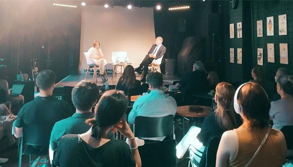 Spotkanie przedstawicieli diaspory rosyjskiej w Berlinie z Władimirem Miłowem