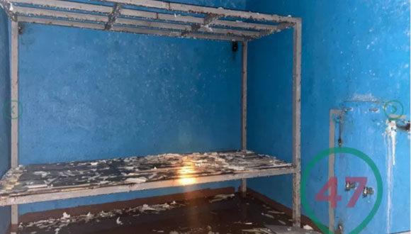 W opuszczonej wiosce pod Petersburgiem znaleziono loch przypominający więzienie